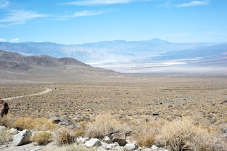 Photo: Saline Valley road