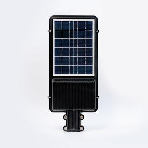Lampa solara 6500 K, alb rece, 2200 lumeni, Negru