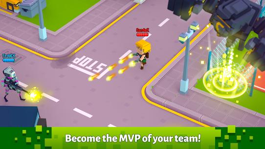 Pixel Arena Online : Multiplayer Blocky Shooter 2