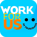 work for us mobile learning icon