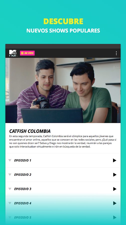 MTV Play – TV en Vivo- screenshot