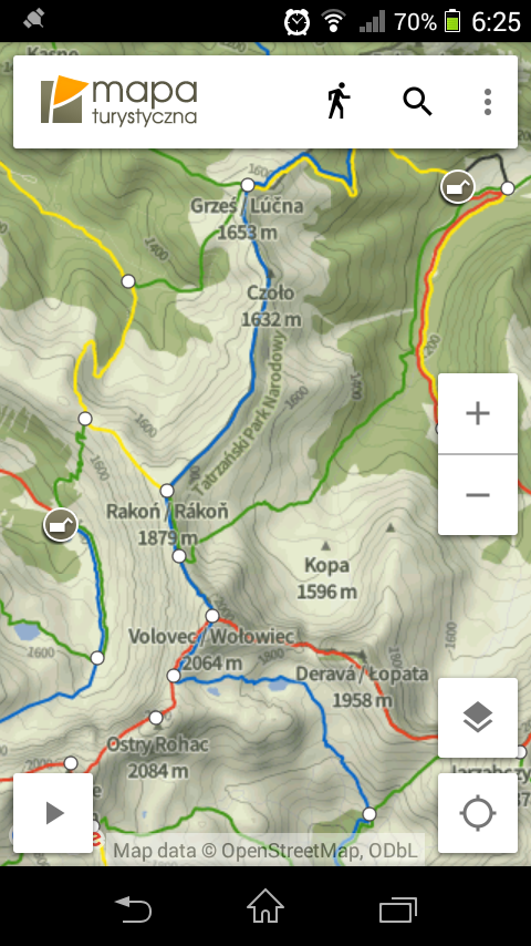 Hiking Map Poland- screenshot