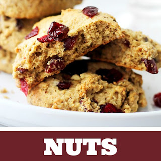 Nuts and Fruits Breakfast Cookies.