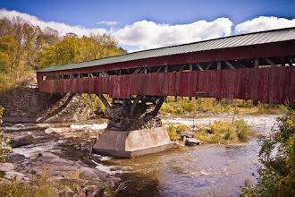 Photo: Taftsville Bridge, Taftsville, Vermont
