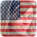 American Flag Filter icon