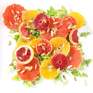Winter Citrus and Arugula Salad