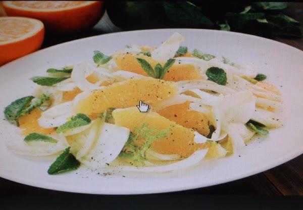 Orange Fennel Salad Recipe
