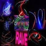 Rave Techno Dance Wall Clock