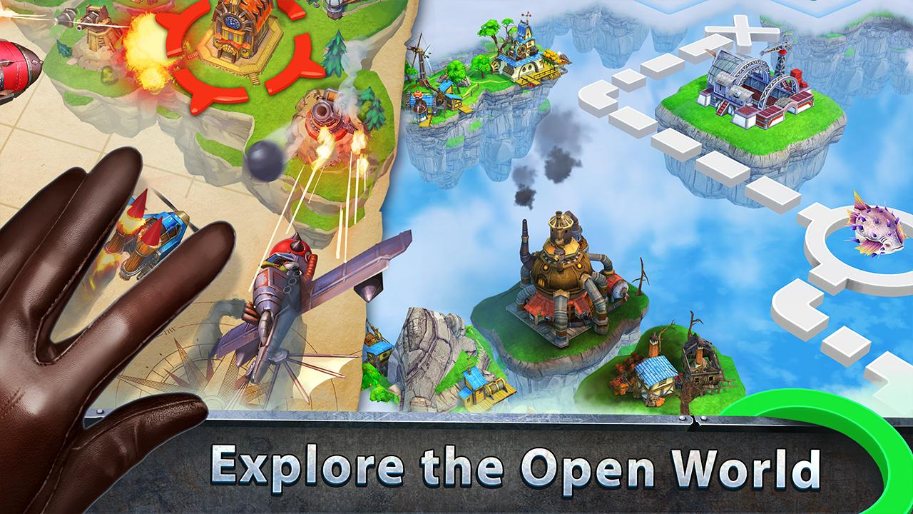 Sky Clash: Lords of Clans 3D- screenshot
