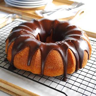 Vanilla Bundt Cake.