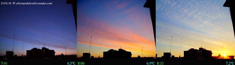 Photo: Amanecer del 21/01/10