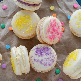 Easter Cheesecake Macarons.