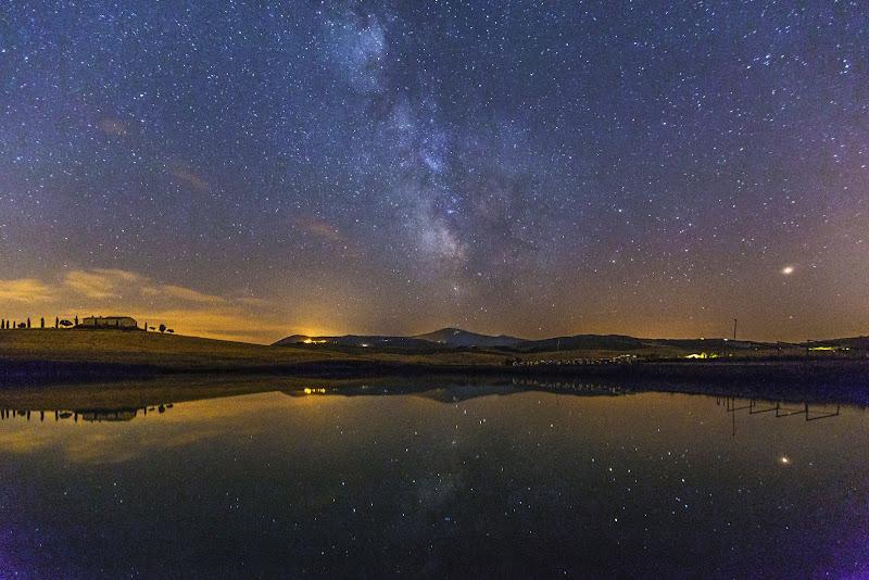 Notturno in val D'Orcia di mirella_cozzani