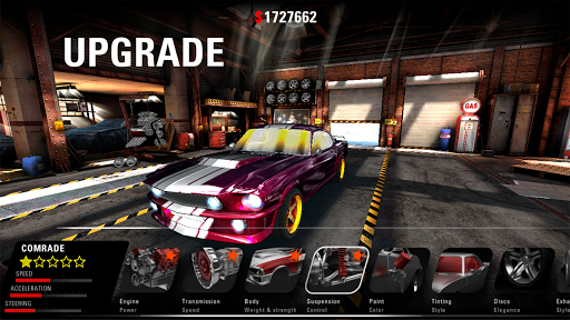 MUSCLE RIDER: Classic American Muscle Car 3D ss3