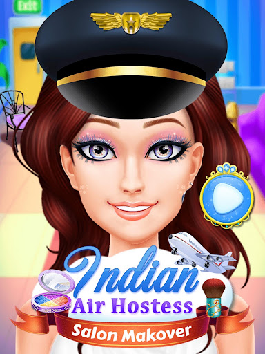 Indian Air Hostess Salon Makeover for PC