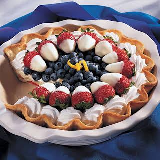 Red, White & Blueberry Pie.