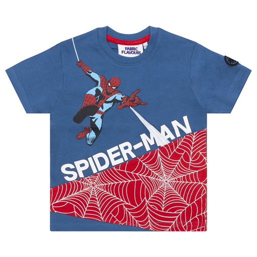 Primary image of Fabric Flavours Spiderman T-shirt