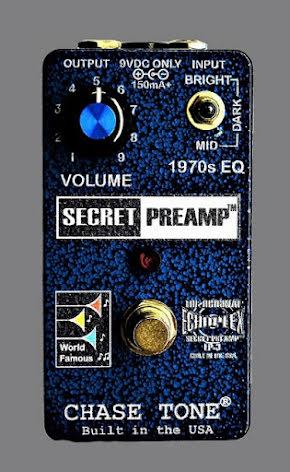 Chase Tone Secret Preamp - Blue