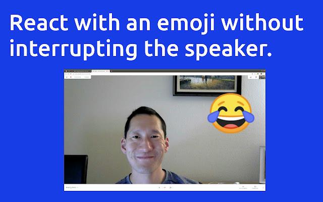 React: Emoji, GIFs & Filters for Google Meet
