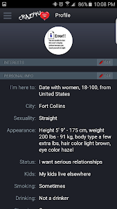 Crazy 4 U Dating! screenshot 1