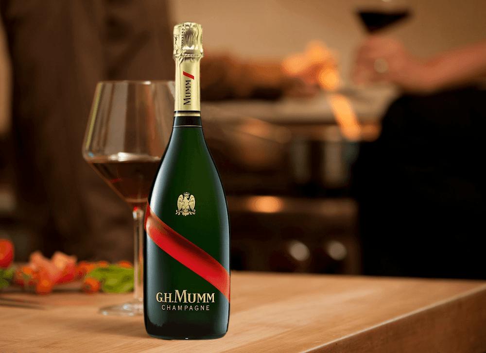 best-champagne-brands-india-G.H. Mumm Brut Cordon Rouge-image