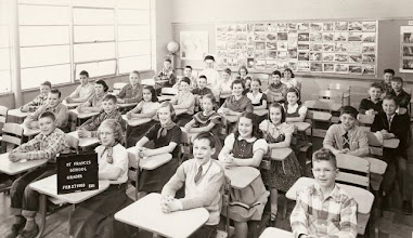 Photo: 1952-53 5th grade class with Sr. Mary Raphael, OP