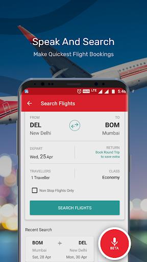 Yatra - Flights, Hotels, Bus, Trains & Cabs 13.0.16 screenshots 2
