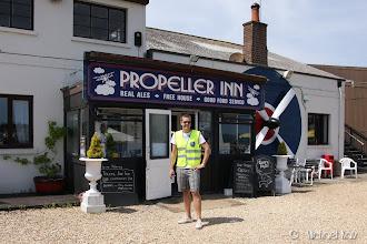 Photo: Den lokale puben, men vi hadde dog ikke tid til pils. :P