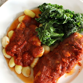 Italian Chicken and Gnocchi with Ragu Homestyle Pasta Sauce.