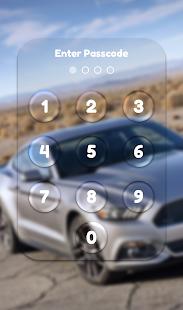 App Lock Theme - Car - náhled