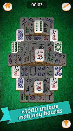 Mahjong Gold Android App Screenshot