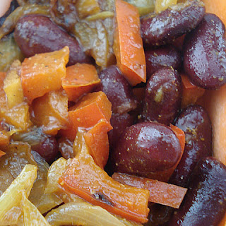 Curried Kidney Beans And Vegetables