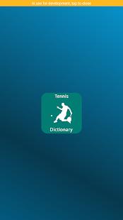 Tennis Dictionary - náhled