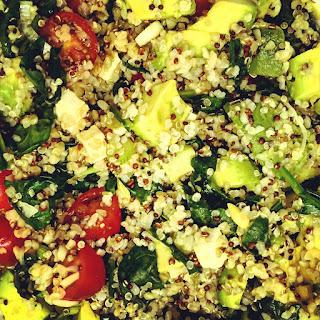 Quinoa Mixed Vegetable Salad with Feta