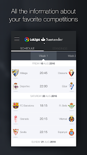 La Liga - Official App- screenshot thumbnail