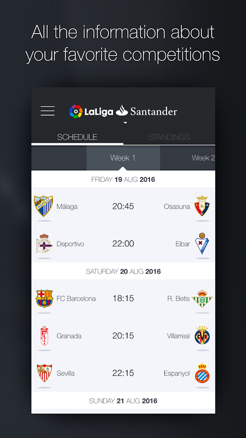 La Liga - Official App- screenshot