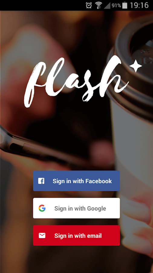 flash- screenshot