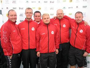 Photo: Denmark. Johnny Andersen, Allan Schwab, Jannick Skov, Mads Nörregaard, Vincent Huus and Kåre Thomsen. Missing in photo: Lars Nörregaard. (Photo: Bengt Svensson)