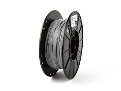 CLEARANCE - 3DFuel Glass Filled Industrial Gray PLA Filament - 3.00mm (0.5kg)