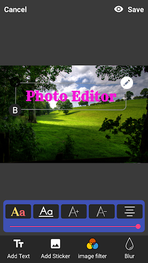 Photo Editor screenshot 4