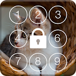 Lovely Cat PIN Screen Lock icon