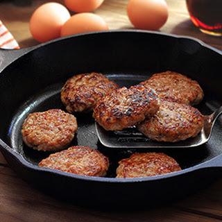 Paleo Pork Breakfast Sausage.