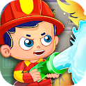Firefighters Town Fire Rescue Adventures icon