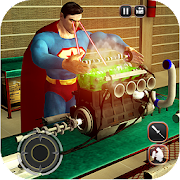 Game Super Hero Car Mechanic Simulator: Engine Overhaul APK for Kindle