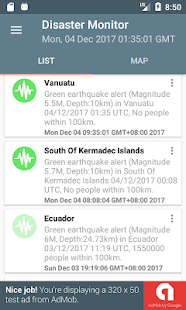 Natural Disaster Monitor- screenshot thumbnail