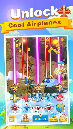 Idle Airplane: Merge & Tower Defense Games 1.0.1 screenshots hack proof 1