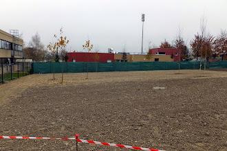 Photo: Aménagement des espaces verts autour du #datacenter #reims (Visite de chantier 20.11.2014)