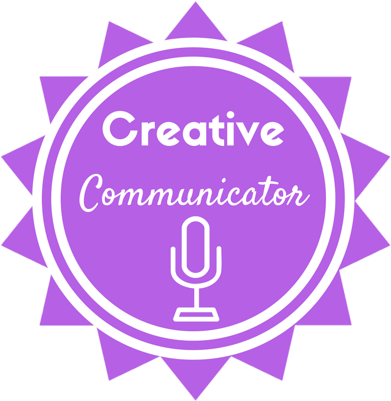 Creative Communicator Badge
