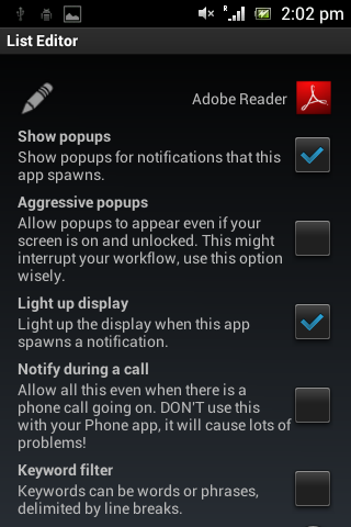 App Status Notifier