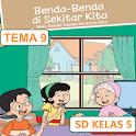BSE SD kelas 5 tema 9 icon